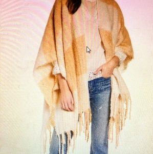 Free People Adorable Poncho